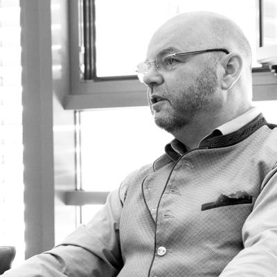 Geschäftsführer Thomas Erdle