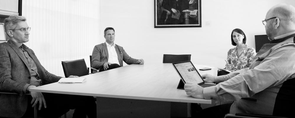Interview-Gruppe